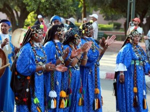 Marrakech-National-Festival-of-Popular-Arts-Parade